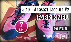 5.10 - Anasazi Lace up V2 UK 7